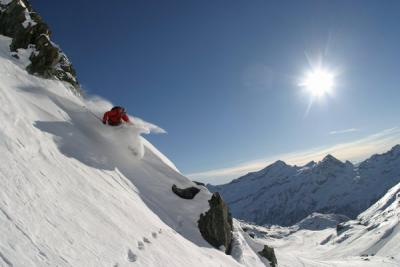 IL BELLO DEL FREERIDE IN NEVE FRESCA